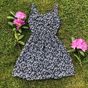 (3 FOR $15 DEAL!) H&M Floral Open Back Sundress